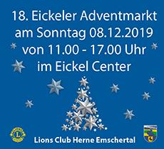 Adventmarkt Lions Emschertal 2019