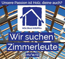 Holzbau Krupka Zimmerleute 2021