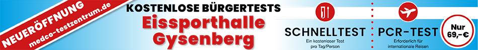 Testzentrum Gysenberg S1