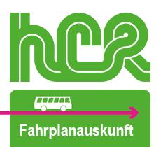 HCR Fahrplan