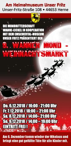 Mondweihnachtsmarkt im Heimatmuseum