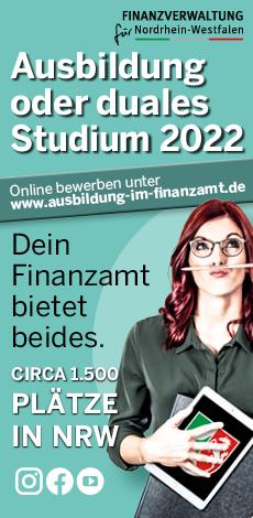 Finanzverwaltung NRW Ausbildung