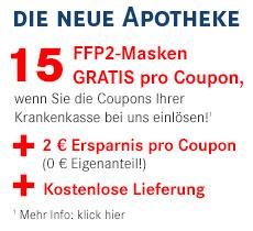 Neue Apotheke: FFP Masken