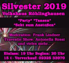 Silvester im Volkshaus 2019