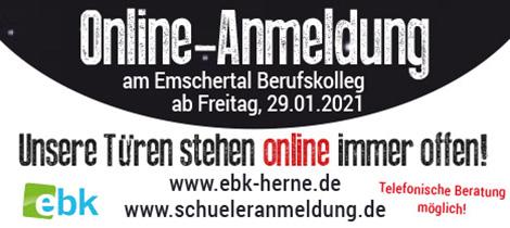 EBK Online Anmeldung