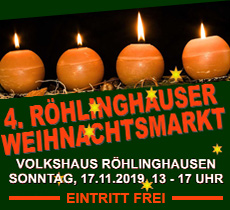 Volkshaus Weihnachtsmarkt 2019