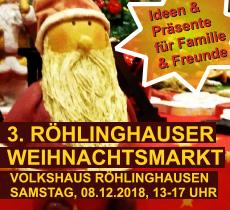 Volkshaus Röhlinghausen Weihnachtsmarkt