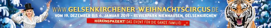 Gelsenkirchener Weihnachtszirkus 2018