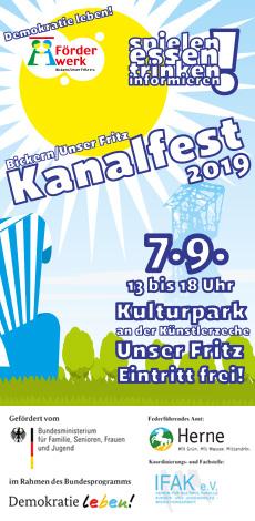 Kanalfest 2019