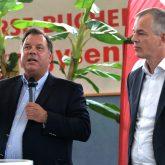 Prof. Dr. Wolfgang Schulz (Zeppelin Uni), Umweltminister Johannes Remmel.