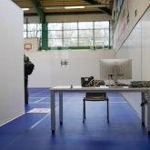 Das Impfzentrum in der Sporthalle am Gysenberg wurde vorgestellt.