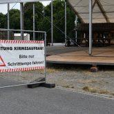 Achtung-Cranger Kirmes Baustelle.