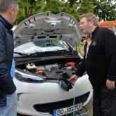 Gerd Petrusch von der Initiative Solarmobil Ruhrgebiet.