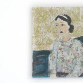 """Ausstellung """"material memories – Skulptur und Malerei"""" der Bildhauerin und Malerin Susanne Schmidt in der Städtischen Galerie."""