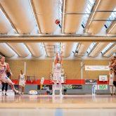 Playoff-Viertelfinale HTC - Eisvögel USC Freiburg am 28.3.2021.