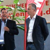 Prof. Dr. Wolfgang Schulz (Zeppelin Uni), Umweltminister Johannes Remmel, Thomas Semmelmann.