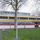 Das Impfzentrum in der Sporthalle am Gysenberg wurde vorgestellt