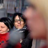 One Billlion Rising auf dem Robert-Brauner-Platz.