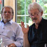 Pressekonferenz im fast neuen Parkhotel. v.l. Peter Weber, Jens Blome.