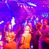 Tanz in den Mai in der Zeltstadt im Gysenberg.