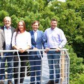 v.l.Architekt Jens Blome, Peter Weber, Architektin Sabrina Gronotte, Dr. Frank Dudda, Jan Hendrik van Dillen.