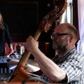 Jazztrio ED3 mit Carlotta Ribbe am Vibraphon.