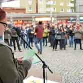 Gegen-Veranstaltungen am 1.10.2019 gegen die Spaziergänge der sogenannten Besorgten Bürger in der Herner Innenstadt.
