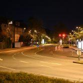 Leere Straßen während der Ausgangssperre in Herne