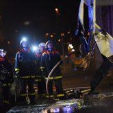 Brand in einem Gewerbeobjekt an der Gelsenkirchener Straße