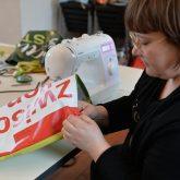 Workshop: ARTbags - Kunsttaschen im Kaminzimmer von Schloss Strünkede.