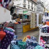 Der Deutsch-Holländische Stoffmarkt in Herne 2020