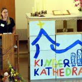 Eröffnung der Kinderkathedrale in der Christuskirche der evangelischen Petrusgemeinde.