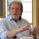 Pressekonferenz im fast neuen Parkhotel: Peter Weber von der TGG.