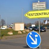 Das Testzentrum auf dem Cranger Kirmes Platz ist ab sofort nur noch über den Adolf-Brenne-Weg zu erreichen.