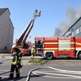 Einsatz der Feuerwehr an der Kinderwelt