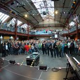 Extraschicht 2015-Flottmannhallen, Rudelsingen.