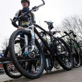 Start der RTF Frühlingsfahrt / CTF Emscherbike 2016 der RSG Herne.