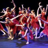 Tänzerinnen der Musikschule Hattingen.