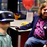 Virtual Reality-Brille.