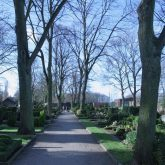Der Friedhof Crange.