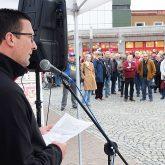 Bündnis Herne auf dem Robert-Brauner-Platz