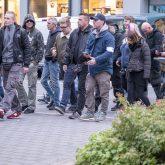 """Aufmarsch """"besorgter Bürger"""" und Protest des """"Herner Bündnis"""", 08.10.2019."""