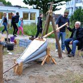 Extraschicht 2015 - Archäologie-Museum, vorinsustrielle Eisengewinnung.