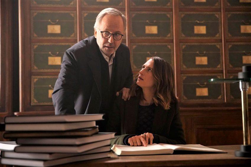 Kinofilm: Der geheime Roman des Monsieur Pick. im Bild: Joséphine (Camille Cottin) und Jean-Michel (Fabrice Luchini).