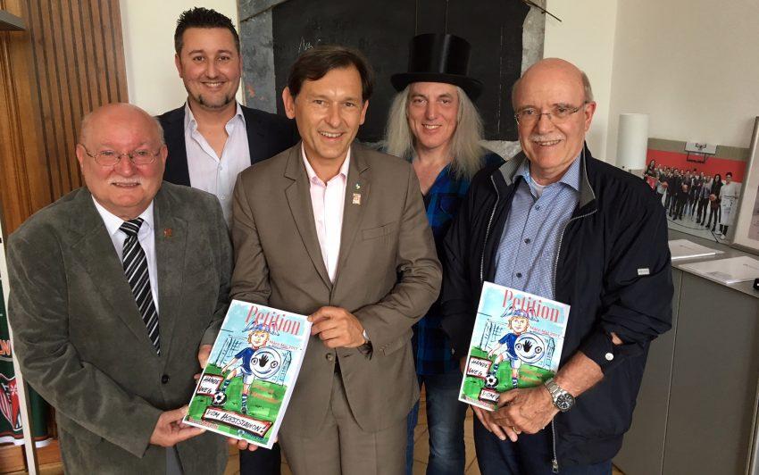 v.l. Günther Malessa, Christian Gera, Frank Dudda, Hotte Schröder, Rolf Bremer.