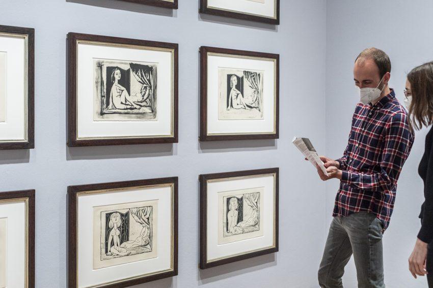 Neue Picasso-Ausstellung im Picassso-Museum.