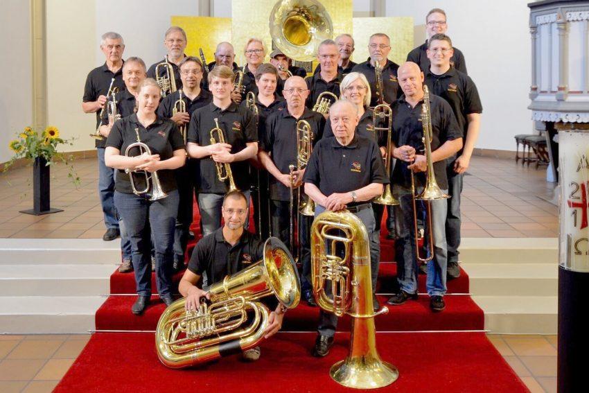 Der CVJM-Posaunenchor feiert sein10. Sommerkonzert.