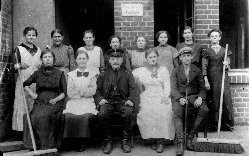 Kehrkolonne 1917.