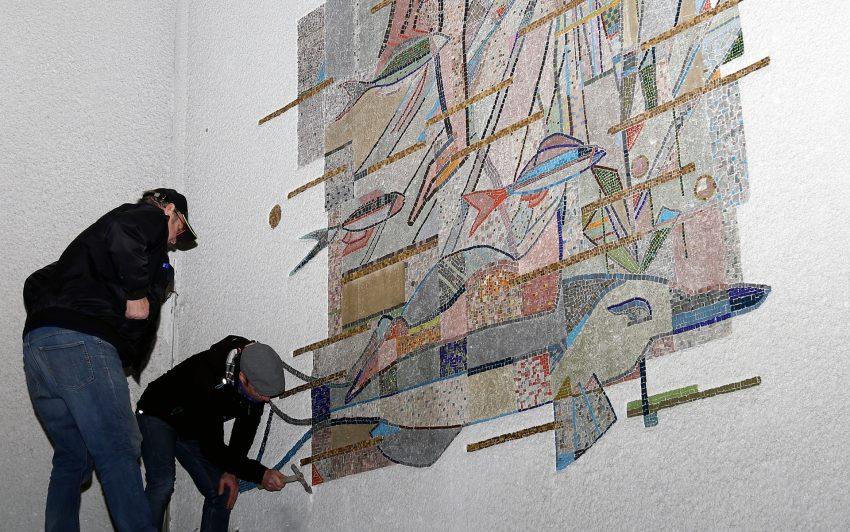 Mosaik im Hallenbad Wanne-Eickel