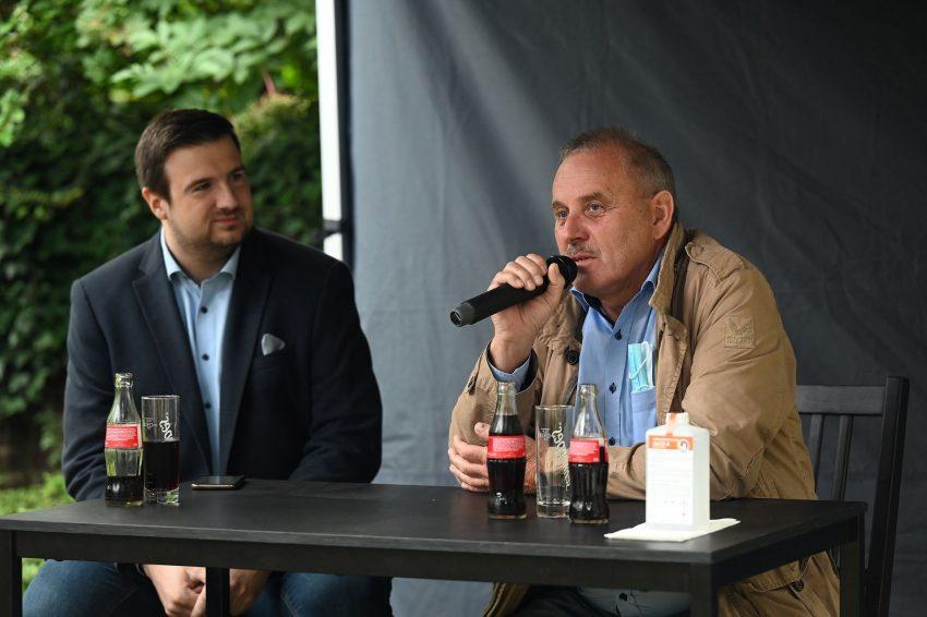 Albert Ritter im Gespräch mit Christoph Bußmann